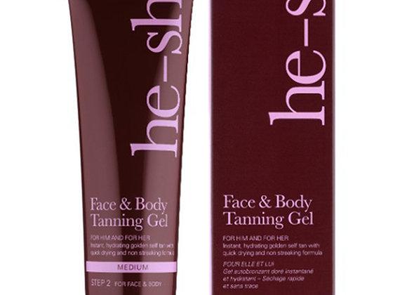 Face & Body Tanning Gel