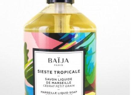 Savon Liquide de Marseille Sieste Tropicale
