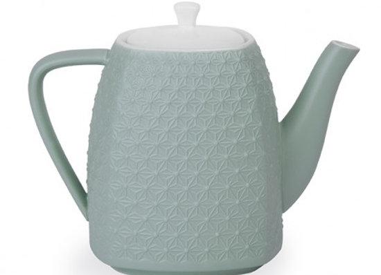Théière céramique Bleu vert