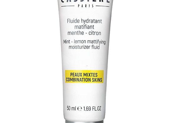 Fluide hydratant matifiant citron