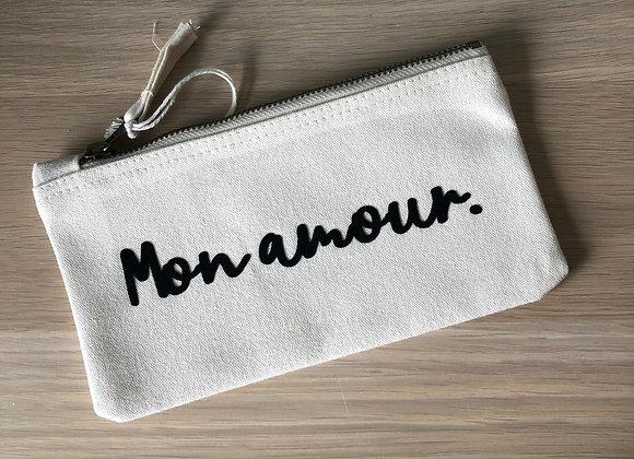 """Pochette """" Mon amour"""""""