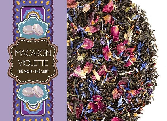 Macaron violette - Sachet 100gr