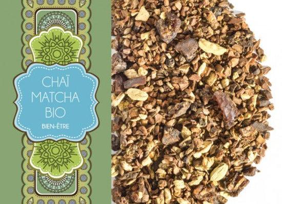 Chaï Matcha Bio - Sachet 100gr