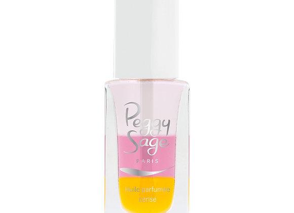 Huile parfumée : Soin pour ongles et cuticules triphasé - Cerise