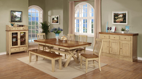 Quinton Farm Table With Butterfly Leaf