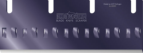BLUE MARLIN scraper - verleiht Scrapern Flügel - Profloor Technology lanciert eine neue Generation von Schabern