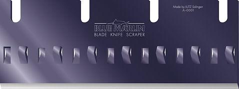 BLUE MARLIN - die innovative Werkzeugfamilie im preisgekrönten Design baut Schaberklingenfamilie weiter aus
