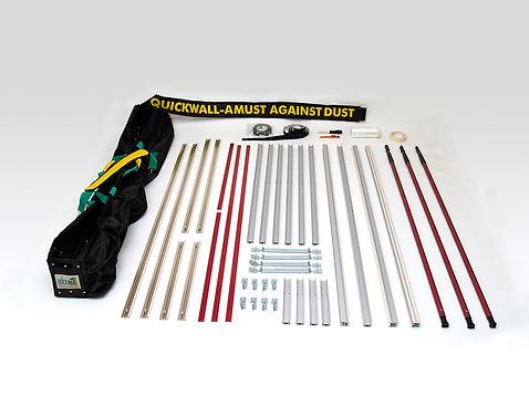 QuickWall® - die preisgekrönte mobile Staubschutzwand