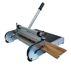 Weltneuheit von Profloor Technology auf der Bau - Designstanze cutinator XL-360° kann auch Längsschnitte