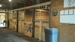 Matted & Concrete Aisle