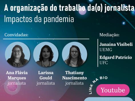 Pesquisadora do PráxisJor participa de primeiro episódio do SBPJor em Redes 2021