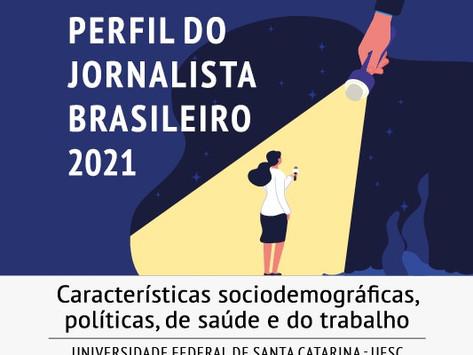 """Pesquisa """"Perfil do Jornalista Brasileiro"""" começa a coletar dados nesta segunda (16)"""