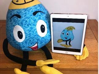 Meet KSSC's new mascot, Kacey Waterdrop!