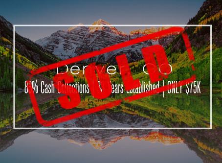 Colorado Practice Sold!