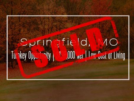 Missouri Practice Sold!