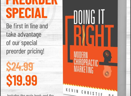 Doing it Right: Modern Chiropractic Marketing