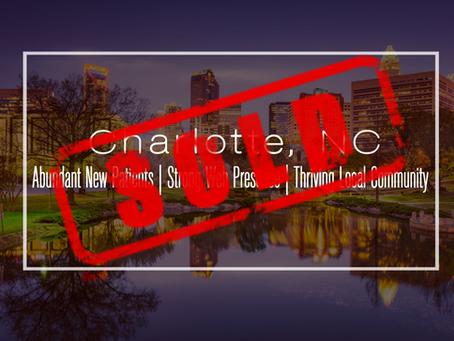 North Carolina Practice Sold!
