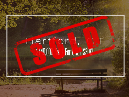 Connecticut Practice Sold!