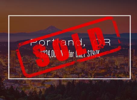 Oregon Practice Sold!