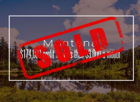 Montana Practice Sold!