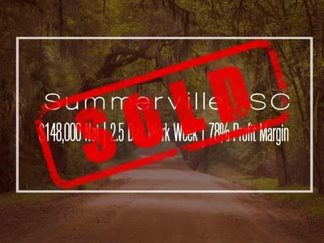 South Carolina Practice Sold!
