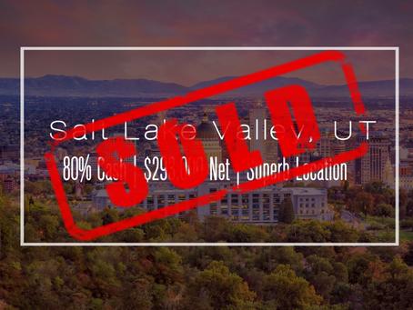 Utah Practice Sold!