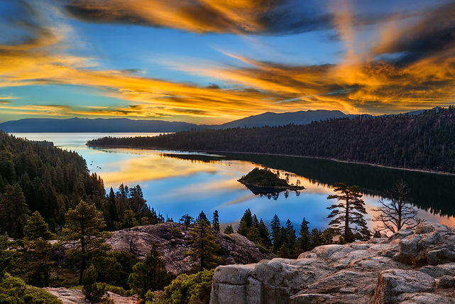 CA - Lake Tahoe Sunset.jpeg