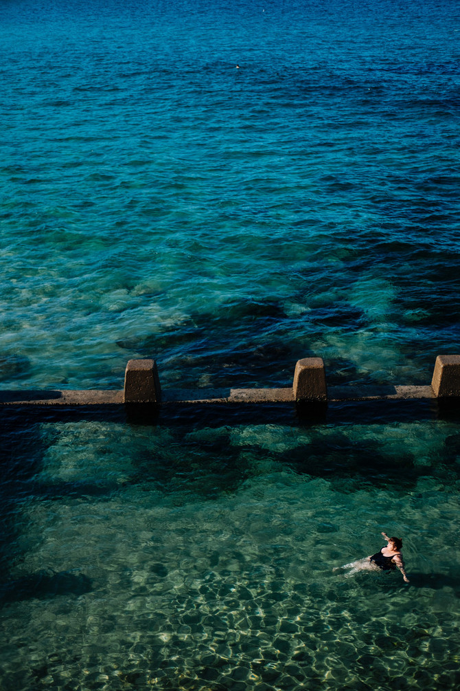 Sydney. Water. Winter.