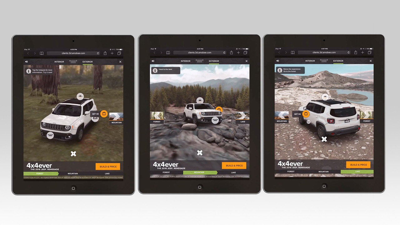 Jeep Car Preview App