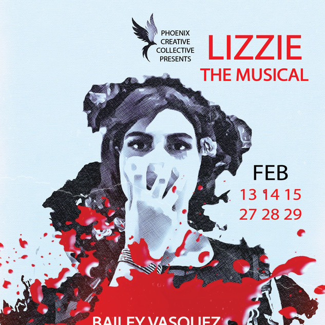 Lizzie: The Musical Bailey CHARACTER POSTER