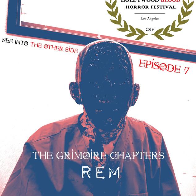 TGC: Rem Hollywood Blood Horror Film Festival Winner POSTER