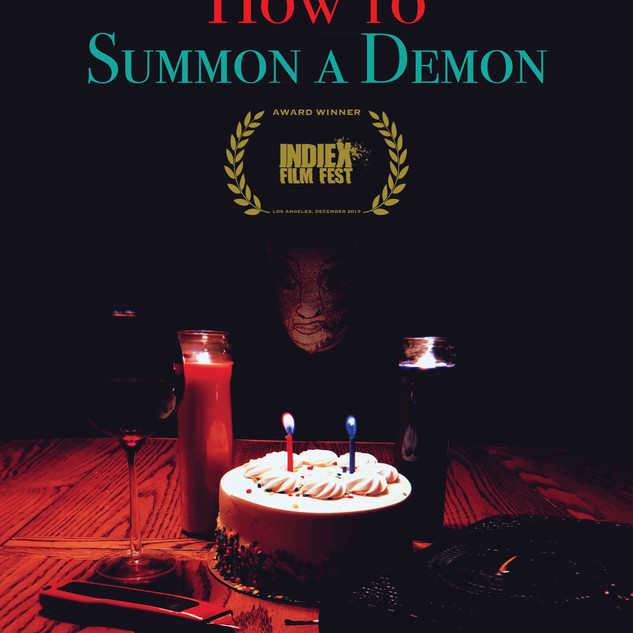 How To Summon A Demon POSTER