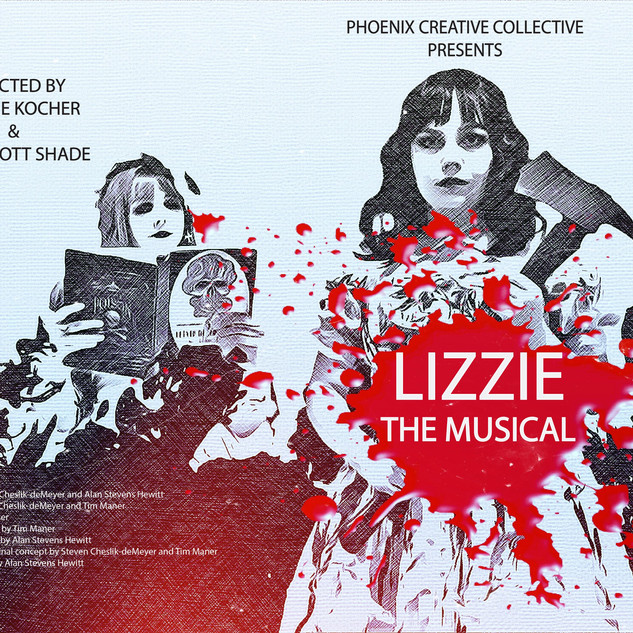 Lizzie: The Musical ALL CHARACTERS BANNER