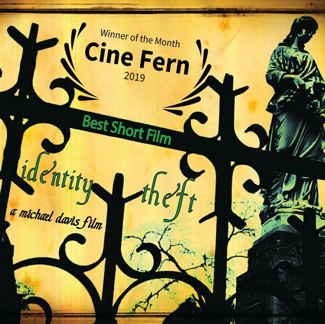 Identity Theft Cine Fern Award Win POSTER