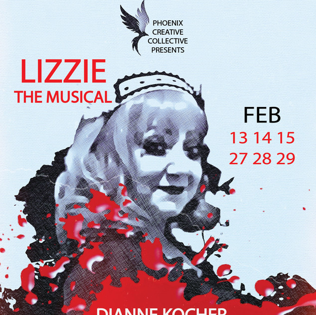 Lizzie: The Musical Dianne CHARACTER POSTER