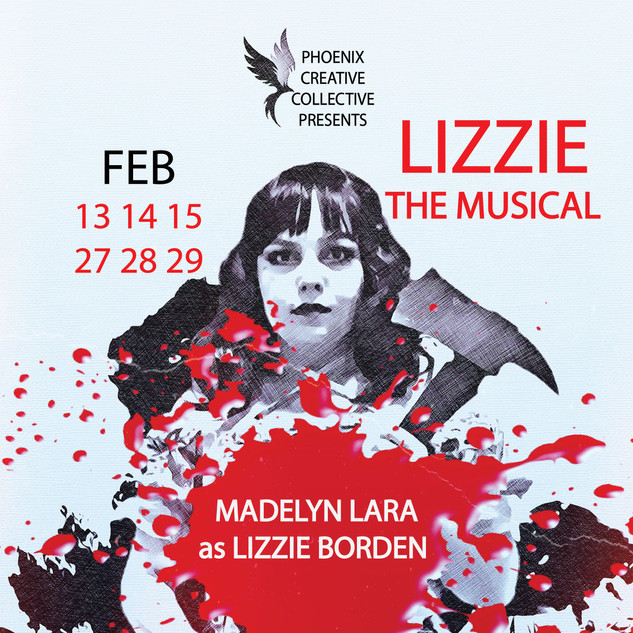 Lizze: The Musical Madelyn CHARACTER POSTER