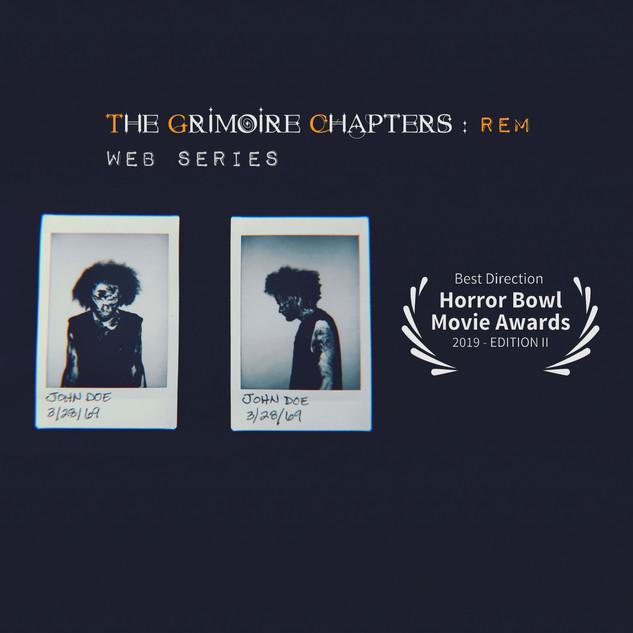 TGC: Rem Horror Bowl Movie Awards 2019 Win POSTER