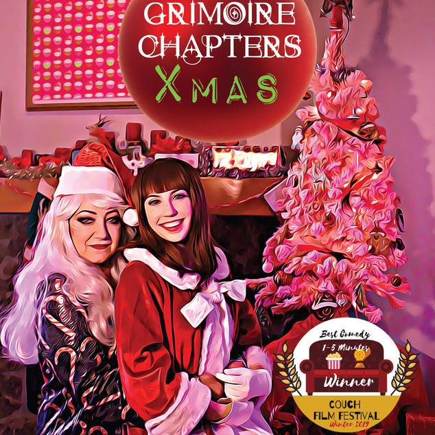 A Grimoire Chapters Xmas POSTER