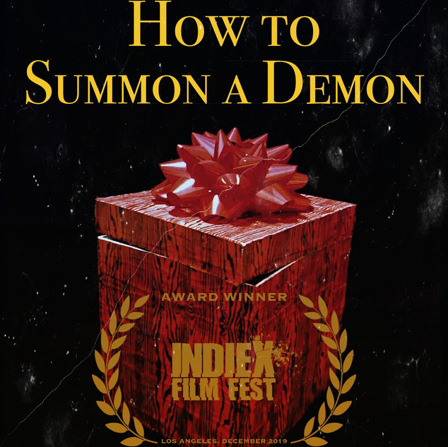 How To Summon A Demon PROMOTIONAL POSTER