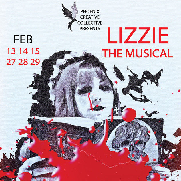 Lizzie: The Musical Meganne CHARACTER POSTER