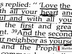 The 1st and 2nd Greatest Commandments of Christ