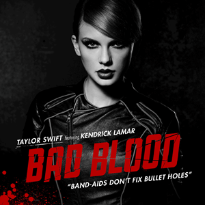 Taylor Swift 'Bad Blood' poster