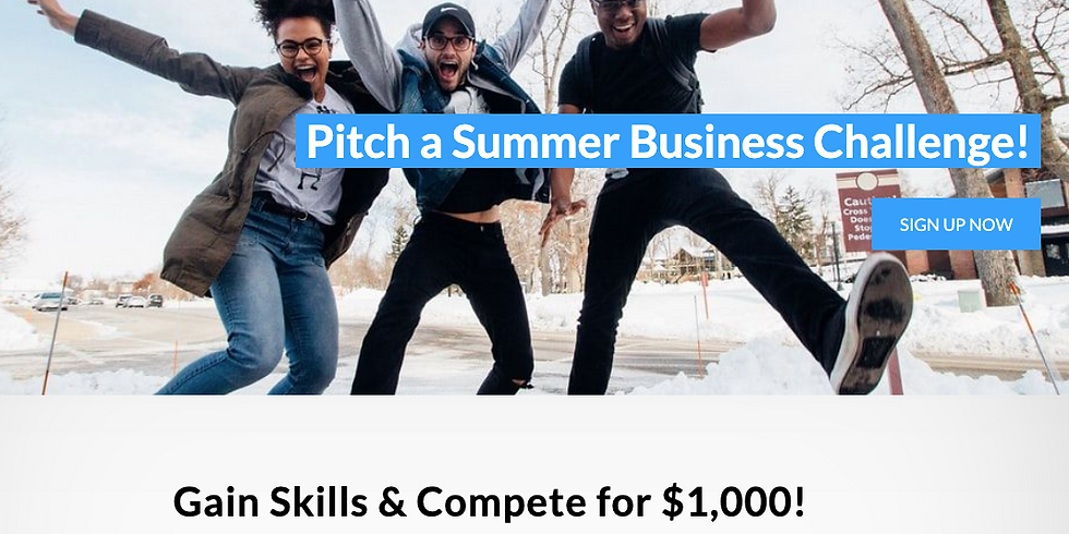 Pitch a Summer Business Challenge