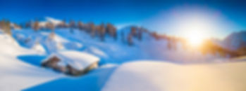 photo hiver chalet montagne summitouring