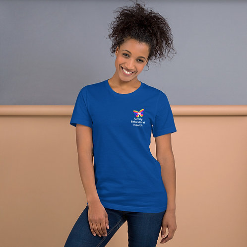 Unisex T-Shirt (White Text)