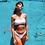 Thumbnail: ELEONORA White Crinkle Bikini