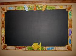Ocean Chalkboard