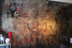 Gothic Waxed Texture Wall