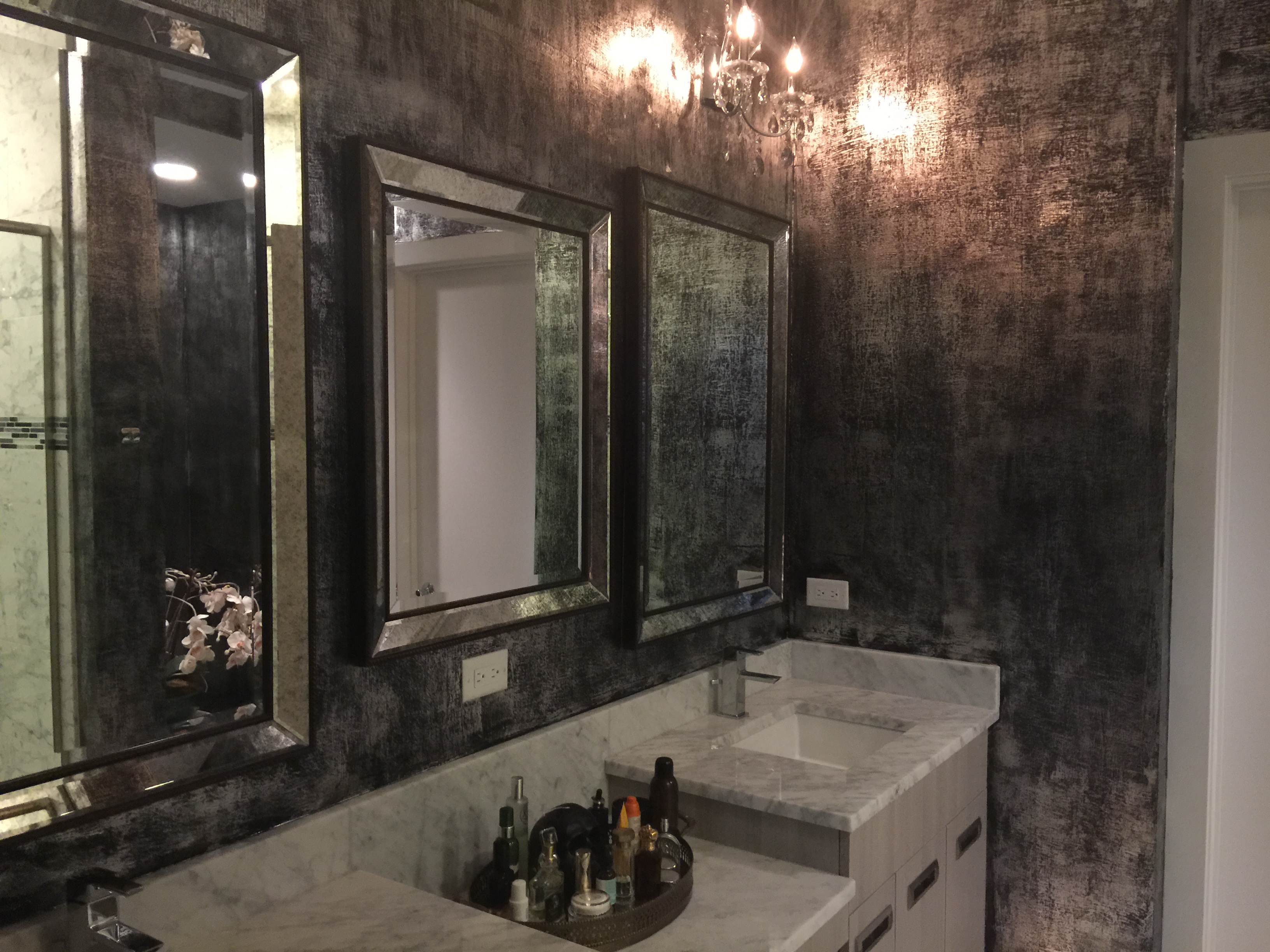 Sliver Foil Master Bath