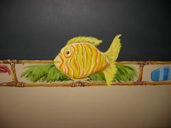 Ocean Chalkboard Detail
